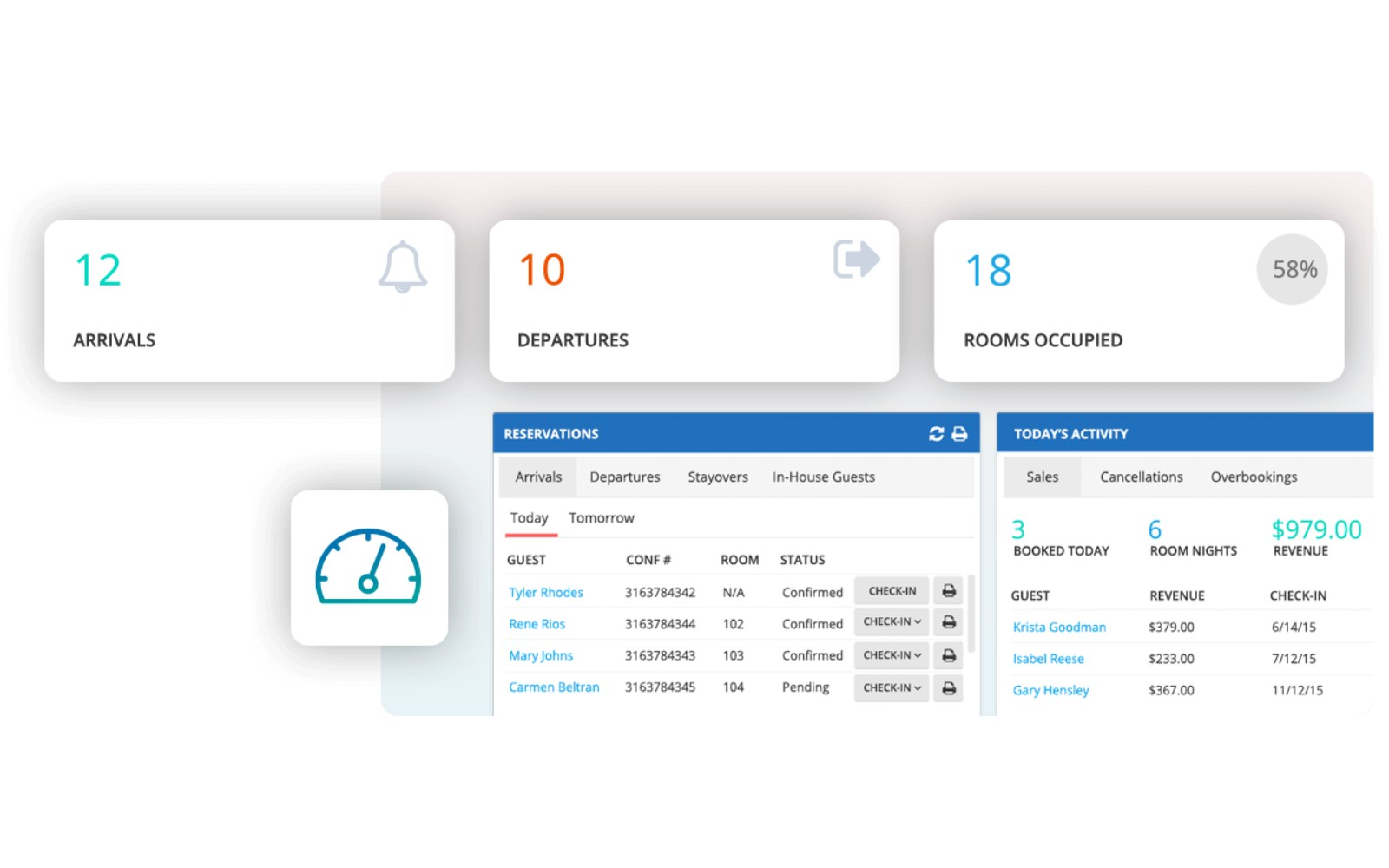 Cloudbeds Screenshot