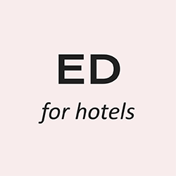 ED for hotels Logo