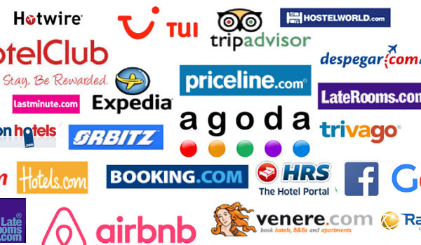 Several Online Travel Agencies listed.