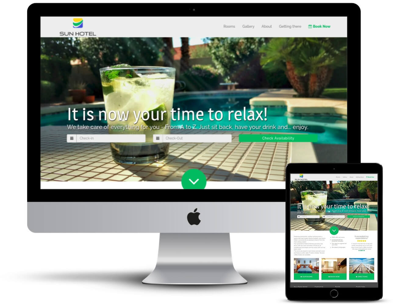 HotelMinder Website Design