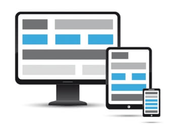 Mobile first responsive design website